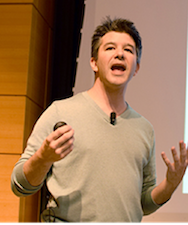 Uber CEO Travis Kalanick,