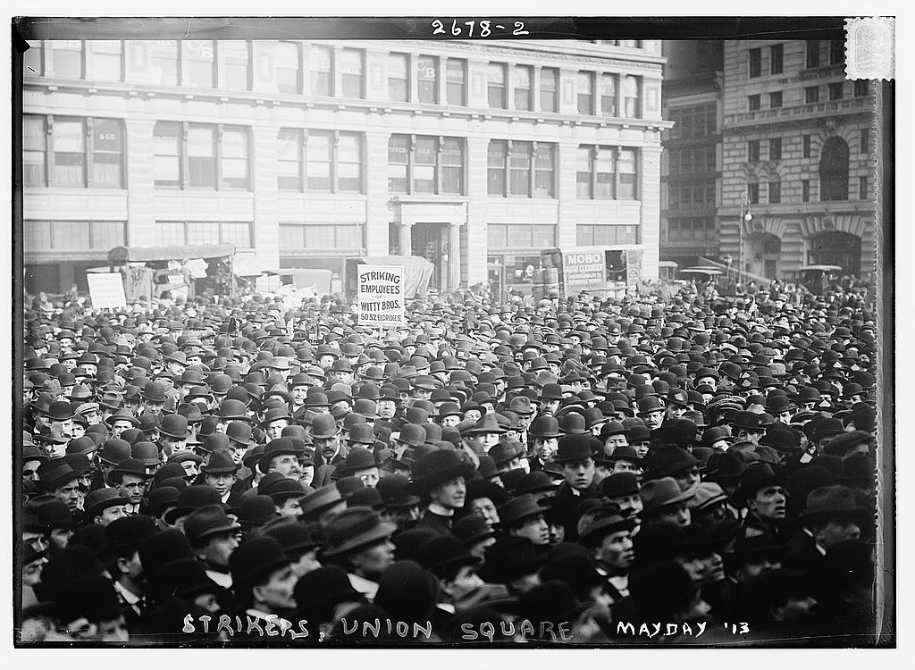How can workers fight for higher wages in today's economy? The Library of Congress/Flickr