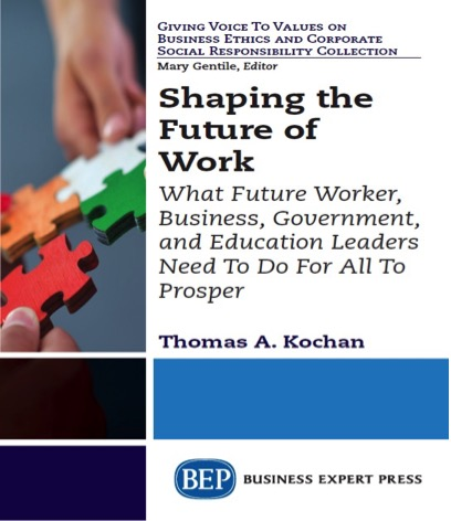 Shaping Future of Work cover