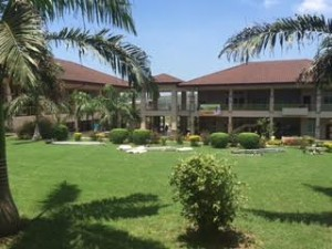 Ashesi's beautiful campus