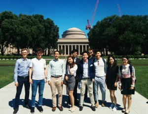 First day with Sloanies at the iconic MIT Great Dome