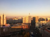 View of Berlin as seen from my office