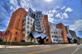 The Stata Center, designed by Frank Gehry, home of the EECS department