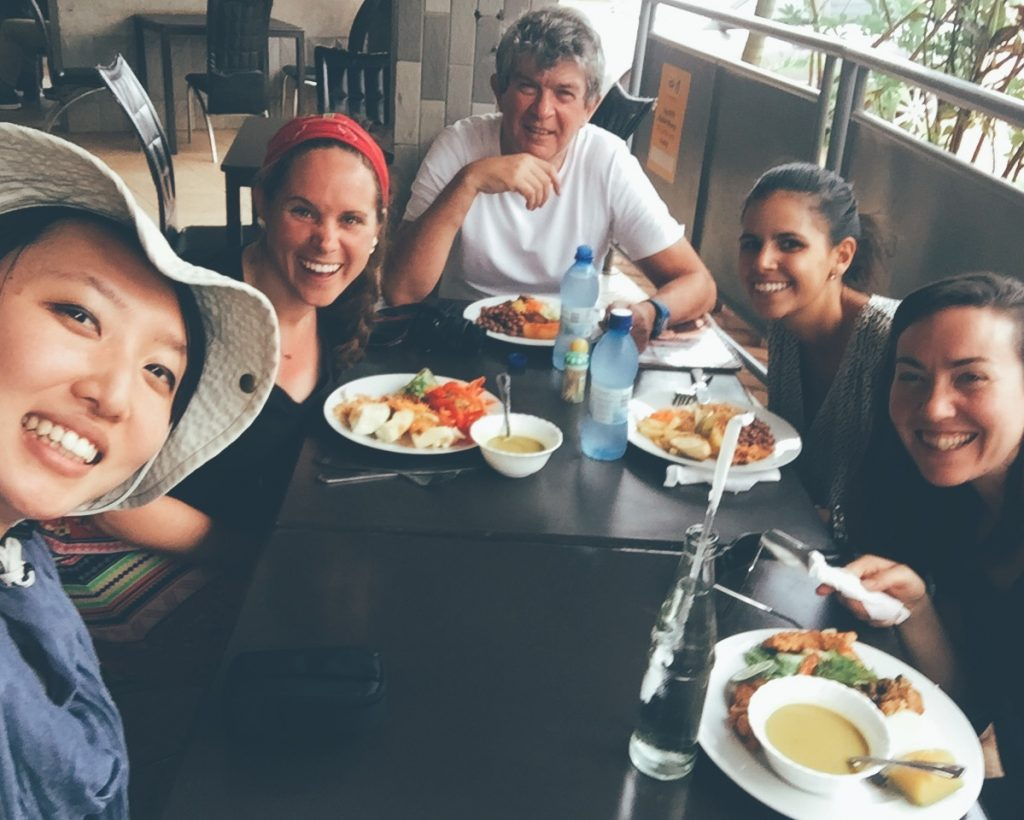 Have lunch together with TWB staff