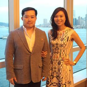 Photo of Chin Chin and Garrison Qian